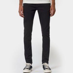 Nudie Lean Dean black jeans, sz 30/30